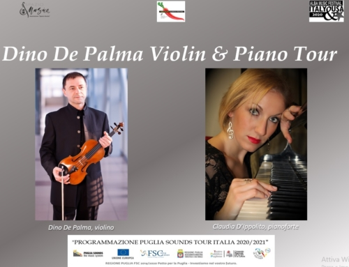 Dino De Palma Violin & Piano Tour  – Rassegna online
