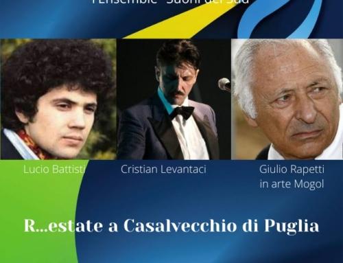 Domenica 9 agosto il Festival d'arte Apuliae arriva a Casalvecchio di Puglia