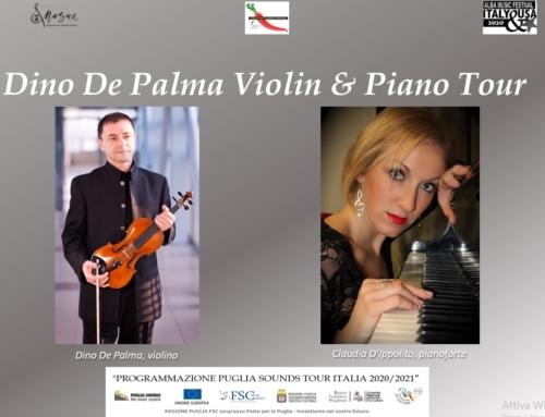 Al via a settembre il Dino De Palma Violin & Piano Tour