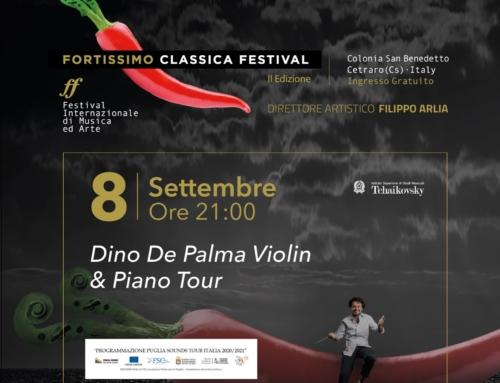 Dino De Palma Violin & Piano Tour8 settembre – Cetraro (CS)