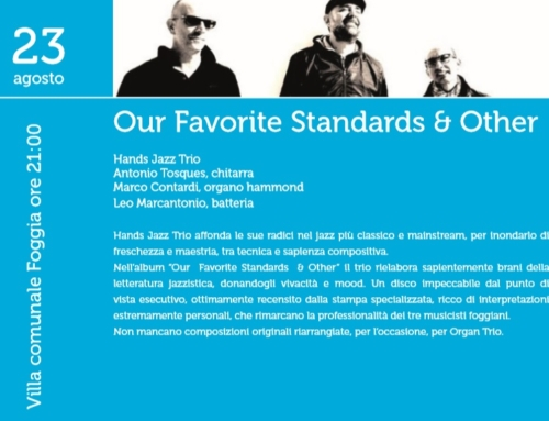 Spettacolo dell'Hands Jazz Trio – Rassegna online